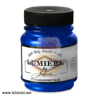 Lumiere #570 Pearlescent Blue - 2.25 oz