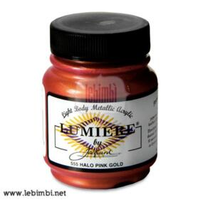 Lumiere #555 Halo Pink Gold - 2.25 oz