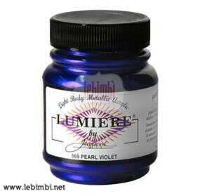 Lumiere #569 Pearlescent Violet - 2.25 oz
