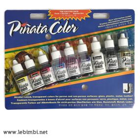 Set 9 Colori Pinata Alcool Ink.