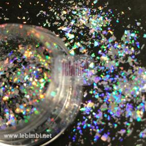 High Quality holo Galaxy laser Flakes - 0,5gr