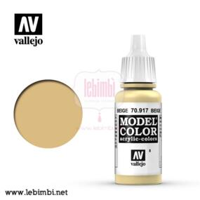 Vallejo MODEL COLOR - Beige 70.917 - 17ml