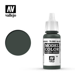 Vallejo MODEL COLOR - Black Green 70.980 - 17ml