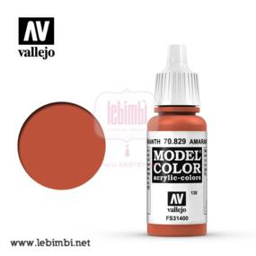 Vallejo MODEL COLOR - Amaranth Red 70.829 - 17ml