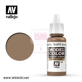 Vallejo MODEL COLOR - Beige Brown 70.875 - 17ml