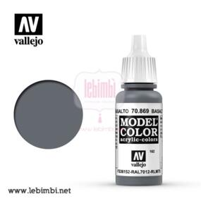 Vallejo MODEL COLOR - Basalt Grey 70.869 - 17ml