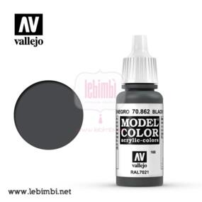 Vallejo MODEL COLOR - Black Grey 70.862 - 17ml