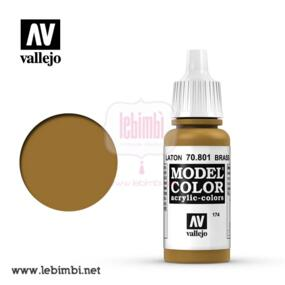 Vallejo MODEL COLOR - Brass 70.801 - 17ml