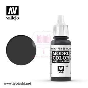 Vallejo MODEL COLOR - Black Glaze 70.855 - 17ml