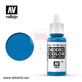 Vallejo MODEL COLOR - Blue Fluorescent 70.736 - 17ml