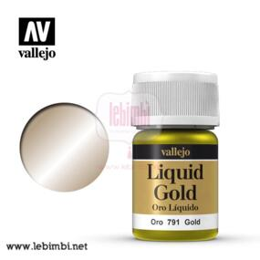Vallejo LIQUID GOLD - Gold 70.791 - 35ml