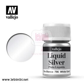 Vallejo LIQUID GOLD - White Gold 70.796 - 35ml