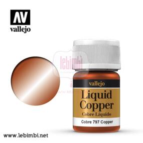 Vallejo LIQUID GOLD - Copper 70.797 - 35ml
