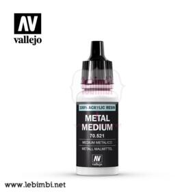 Vallejo MEDIUMS - Metal Medium 70.521 - 17ml