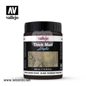 Vallejo THICK MUD - Russian Thick Mud 26.808 - 200ml