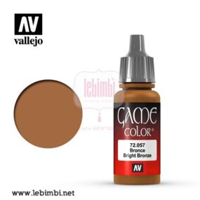 Vallejo GAME COLOR - Bright Bronze 72.057 - 17ml