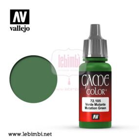 Vallejo GAME COLOR - Mutation Green 72.105 - 17ml