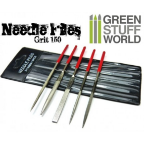 LIME - 5x  Diamond Needle files - Green Stuff World