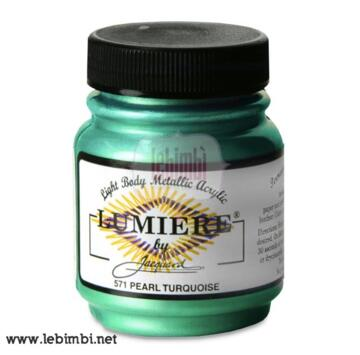 Lumiere #571 Pearlescent Turquoise - 2.25 oz