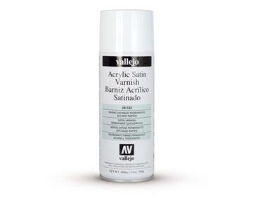 Vallejo Aerosol 400ml - Satin Varnish