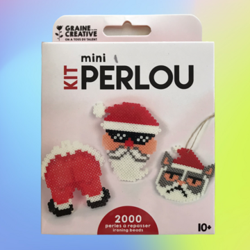 Kit Mini Perlou - Father Christmas (10+)